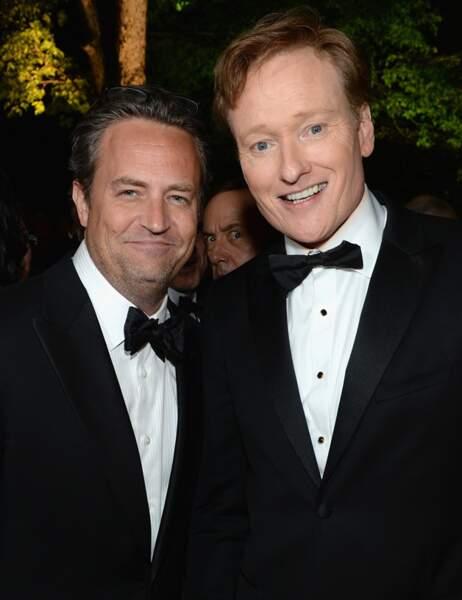 Une autre performance d'anthologie de Kevin Spacey, derrière Matthew Perry et le présentateur Conan O'Brien