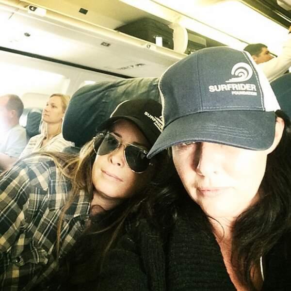 Holly Marie Combs et Shannen Doherty sont parties en road trip cet été