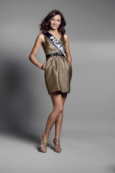 Miss Picardie : Myrtille Cauchefer – 24 ans