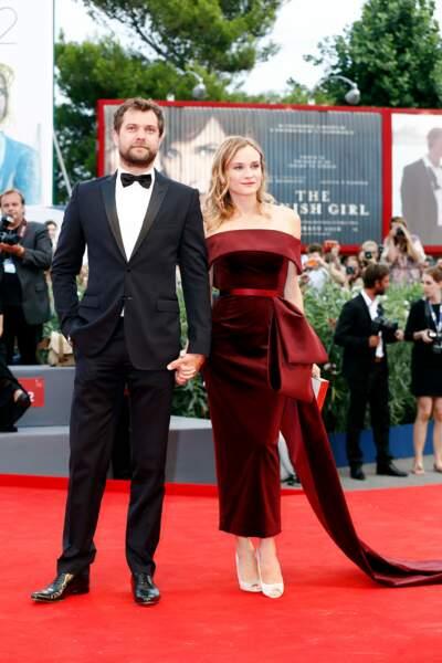 Diane Kruger et Joshua Jackson à l'avant première de The Black Mass