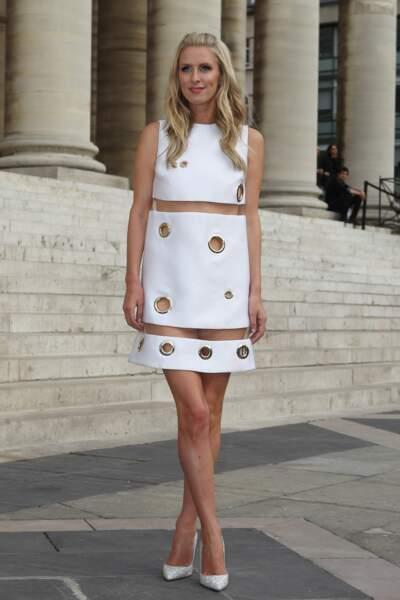 Nicky Hilton avec une robe risquée