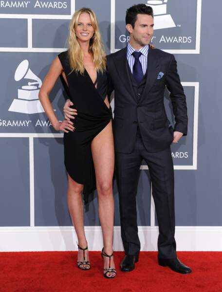 Adam Levine et Anne Vyalitsyna