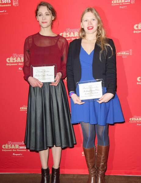 Ariane Labed et Lucie Borleteau