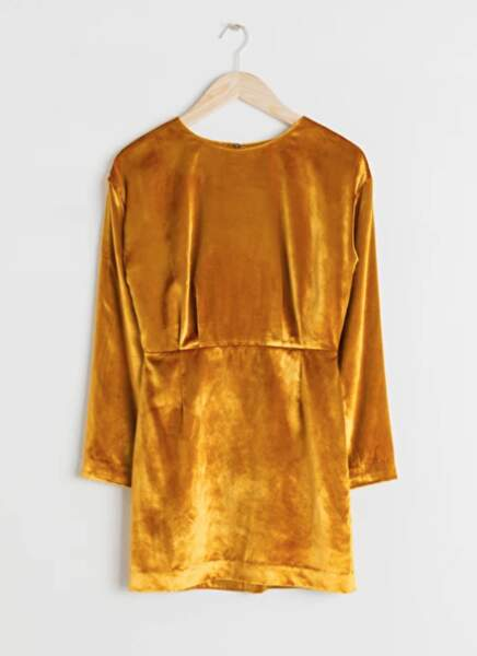 Robe courte jaune gold, & Other Stories, 79€