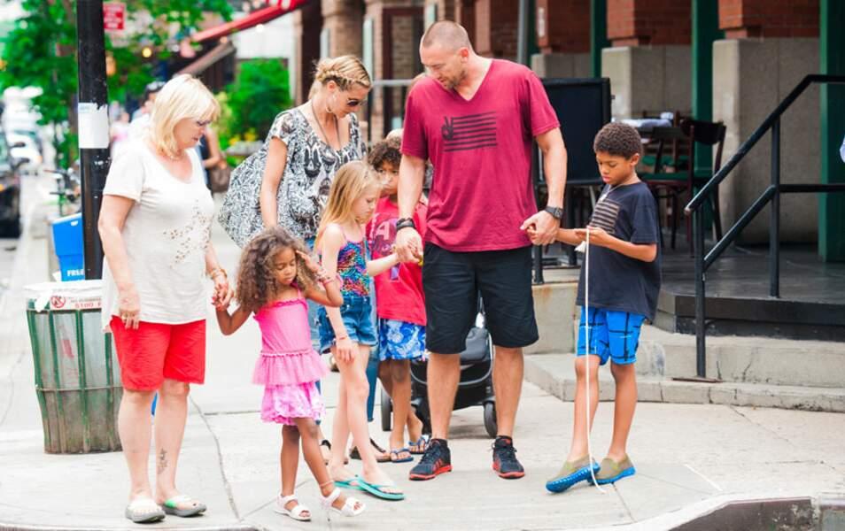 Heidi Klum en famille