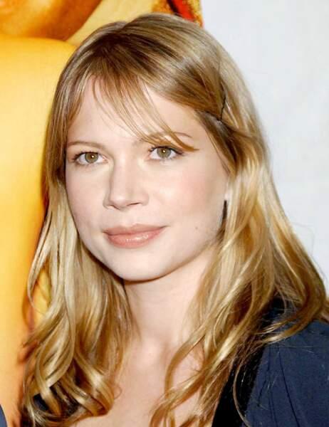 La belle Michelle Williams en 2003...