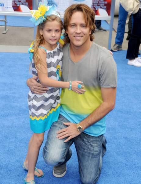 Dannielynn, la fille d'Anna Nicole Smith, et son père Larry Birkhead