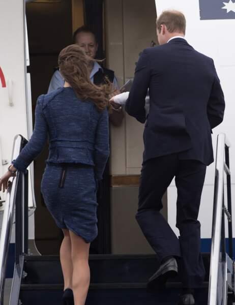 ... Kate, William et George quittent la Nouvelle-Zélande