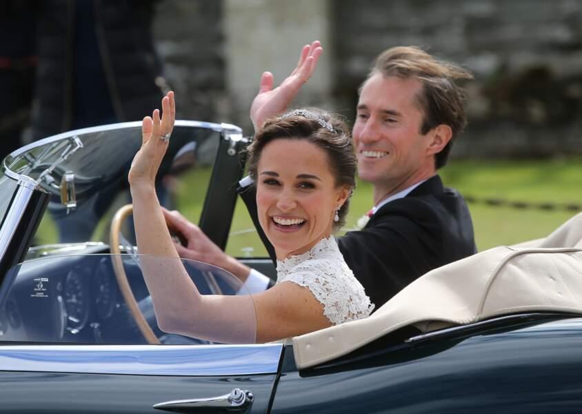 Pippa Middleton et James Matthews ont accueilli le petit Arthur Michael William