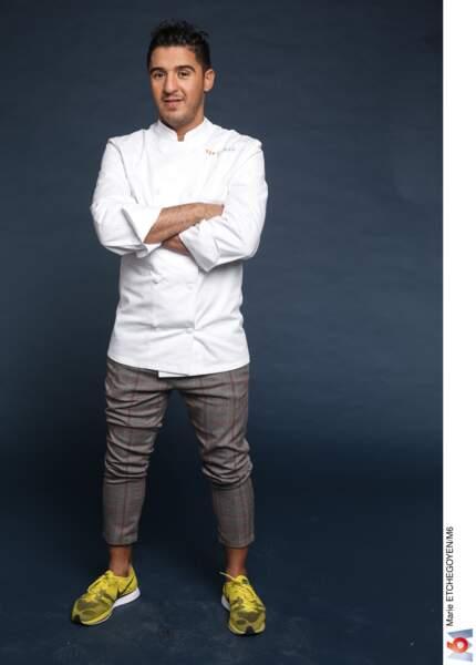 Ibrahim Kharbach / 33 ans / Bruxelles / Chef rôtisseur chez Le Bozar