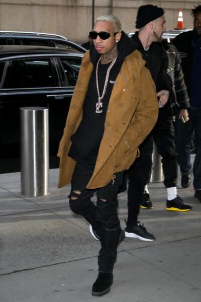 Tyga, le boyfriend de Kylie Jenner, était évidemment de la partie