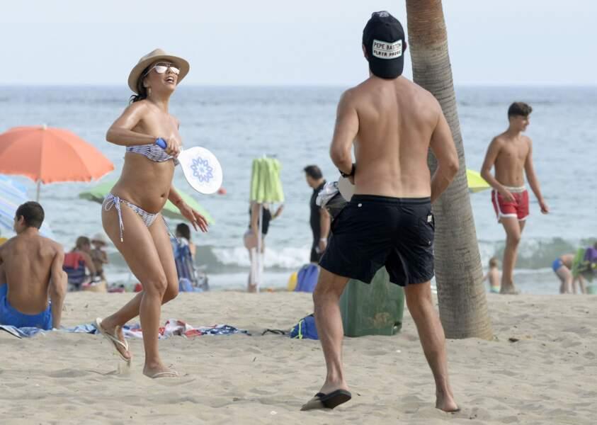 Les people à la plage ? Ils s'amusent comme des gosses : Eva Longoria