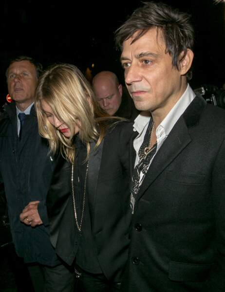 Kate Moss et son mari Jamie Hince