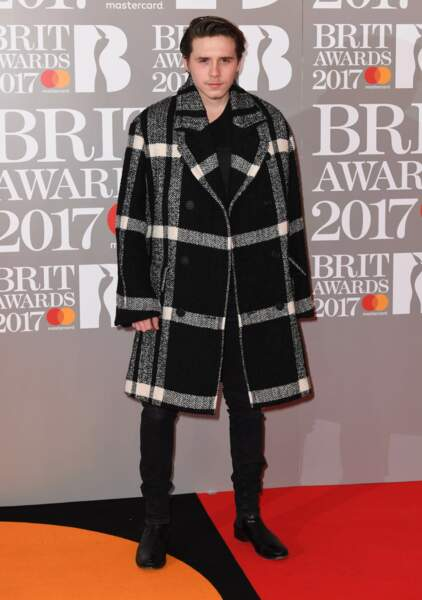Brit Awards 2017 : Brooklyn Beckham