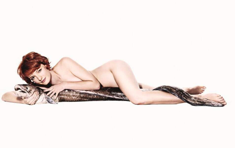 Dakota Blue Richards pour la campagne Fish Love
