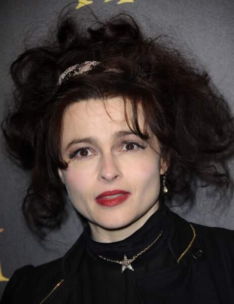 On aurait trouvé des restes humains dans cette coiffure d'Helena Bonham-Carter
