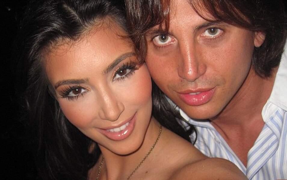 Kim et son ami Jonathan en 2009