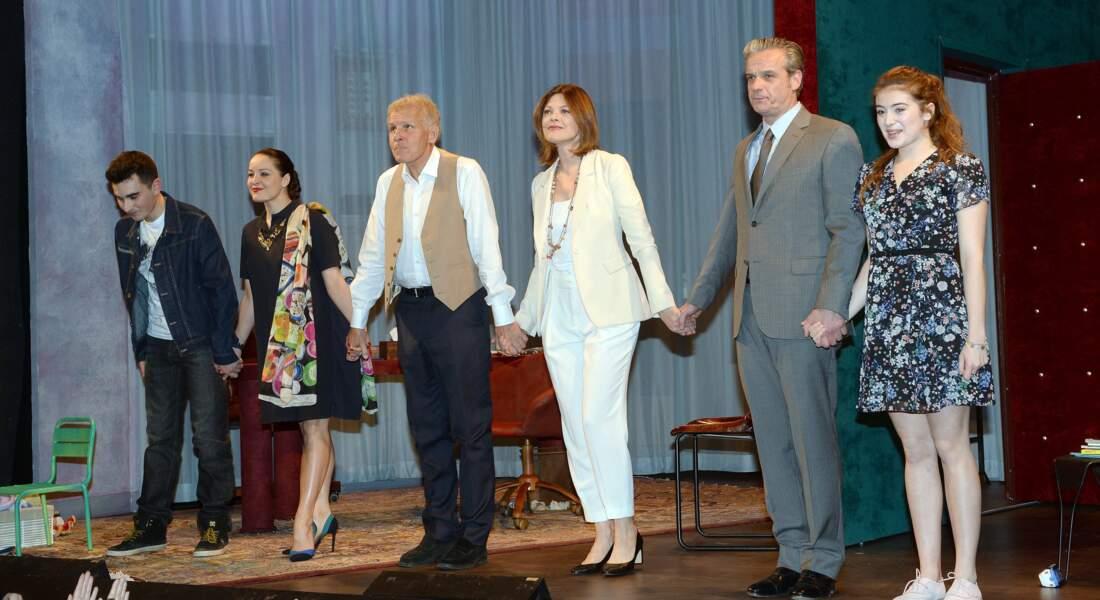Mathias Huguenot, Alexandra Sarramona, Patrick Poivre d Arvor, Alexandra Kazan, David Brecourt et Camille Aguilar