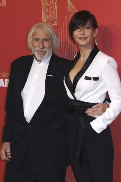 Sophie Marceau et Pierre Richard