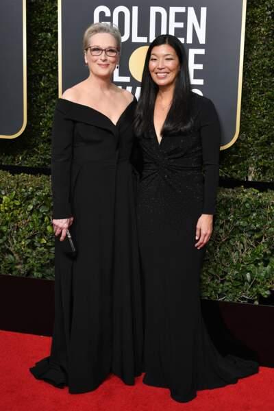 Meryl Streep lors de la 75e cérémonie des Golden Globes, le 7 janvier 2018