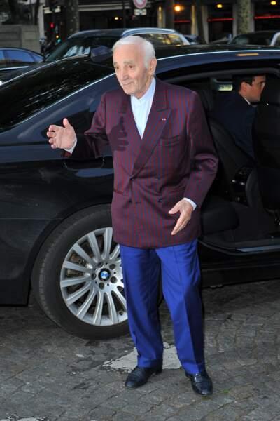 Dîner de la Fondation Vogue - Charles Aznavour