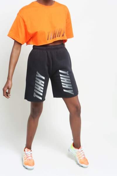T-shirt cropped orange, TIHHY, 35€
