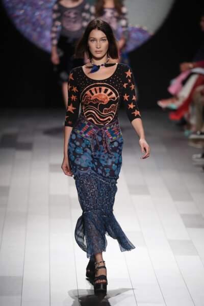 Fashion week de New York - Premier passage pour Bella Hadid
