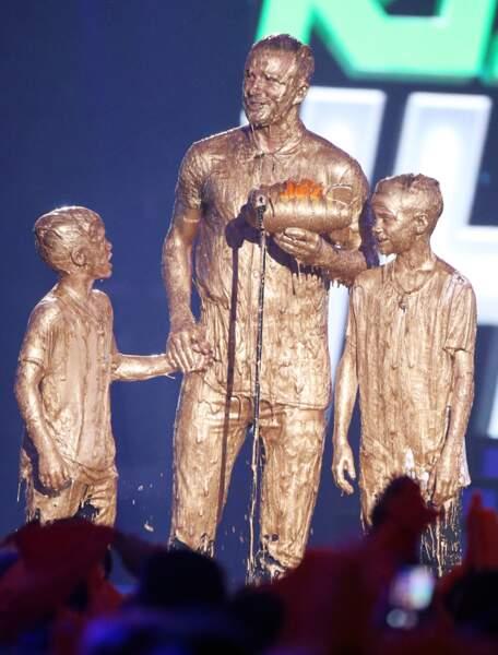 Les Beckham avaient de quoi se réjouir