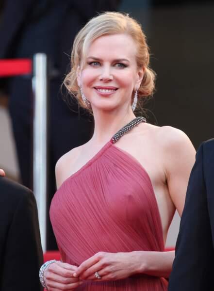 Festival de Cannes, les accidents de tenue les plus sexy - Nicole Kidman avait un peu froid