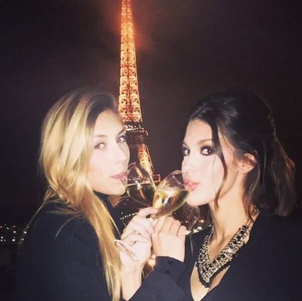 Camille Cerf et Iris Mittenaere sont très complices sur Instagram