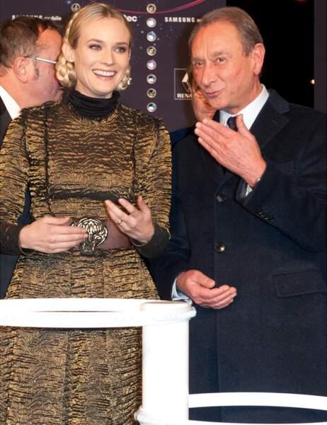 Diane Kruger et Bertrand Delanoë