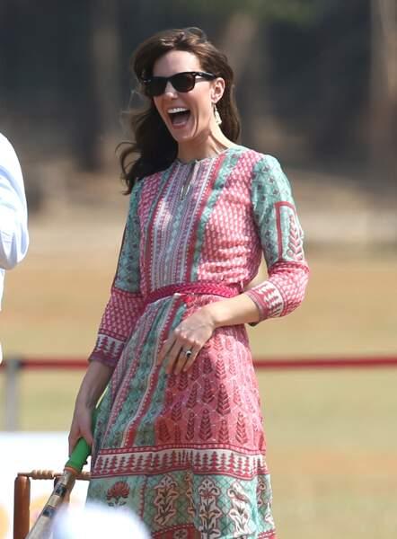 Kate Middleton s'est bien fendu la poire