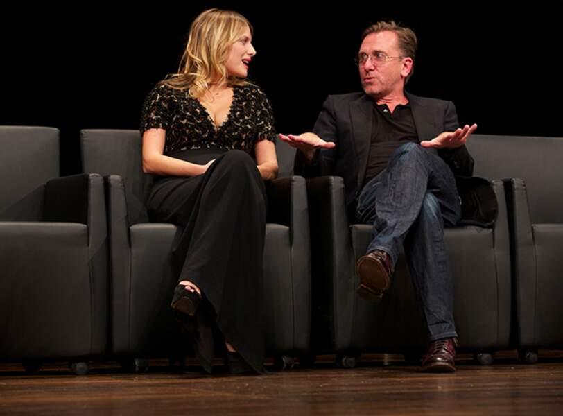 Mélanie Laurent et Tim Roth