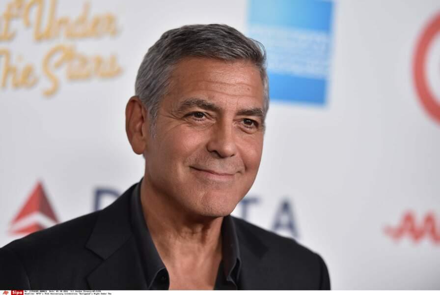 George Clooney : Papa pour la première fois à 55 ans