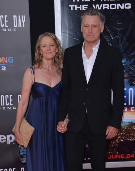 Bill Pullman est venu avec sa femme Tamara