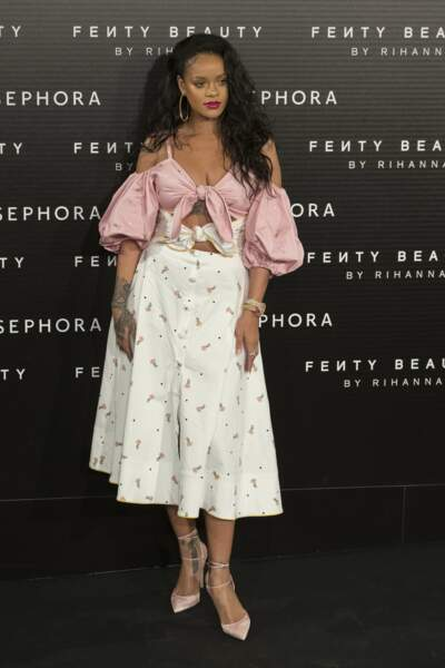 Une 8ème place méritée pour Rihanna qui a marqué 2007 avec le lancement de sa marque Fenty Beauty