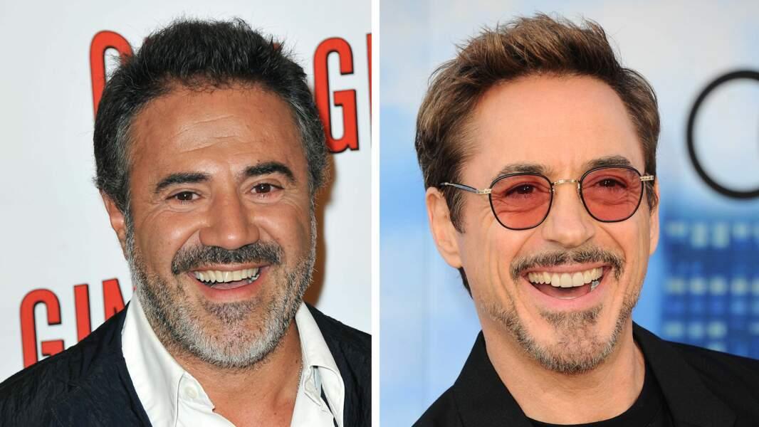 José Garcia et Robert Downey Jr.