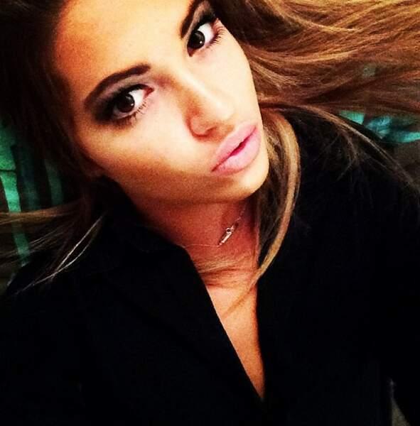 Les selfies, la grande spécialité de Tiffany sur les réseaux sociaux