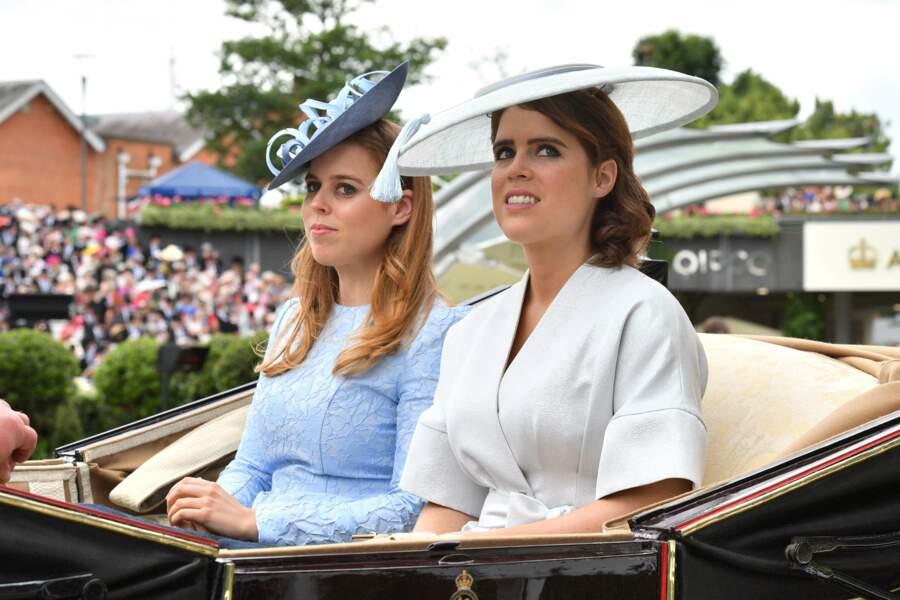 Royal Ascot : les princesse Béatrice et Eugénie