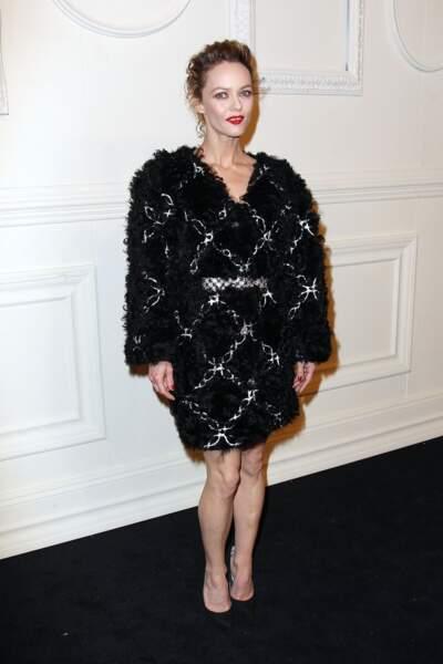 Vanessa Paradis dans sa robe Chanel
