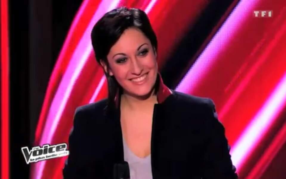 Victoria Pétrosillo, du Roi Soleil, a chanté au premier prime de la saison 2