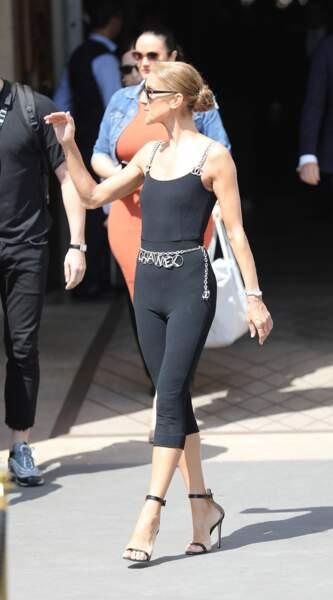 Céline Dion : sa ceinture Chanel coûte elle 1450 euros