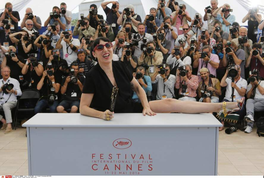 Rossy De Palma, très flexible