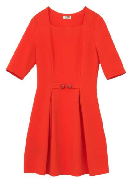 Robe courte orange, Molly Bracken, 46,95€