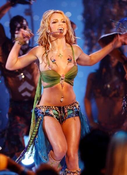Britney Spears, envoûtante...