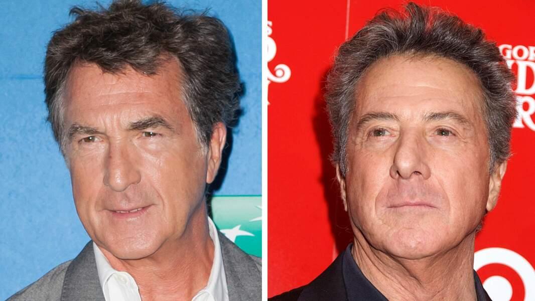 François Cluzet et Dustin Hoffman