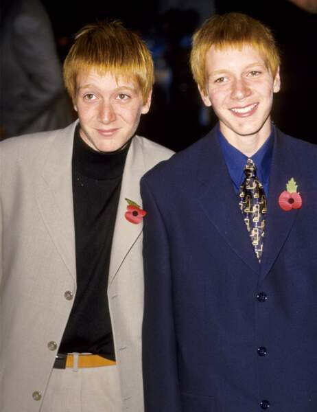 Les jumeaux George et Fred Weasley, grands frères de Ron...