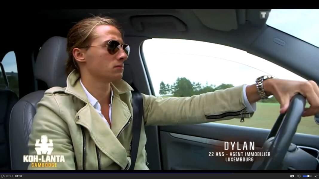 Dylan est un agent immobilier qui aime ce qui brille