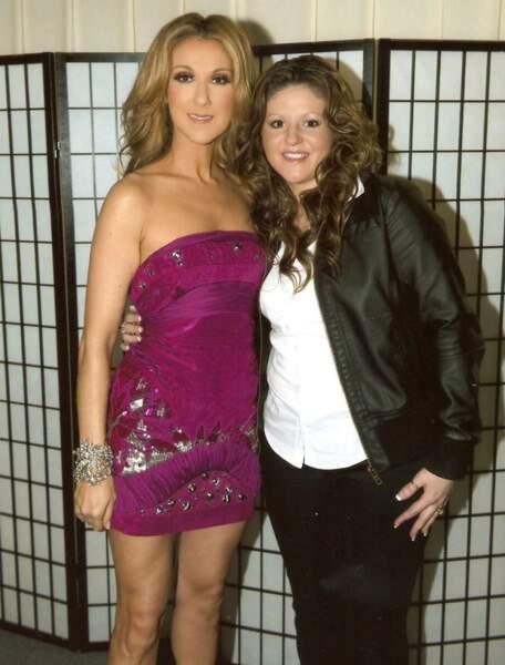 Fan de Céline Dion, elle avait opté pour un style passe-partout en 2008