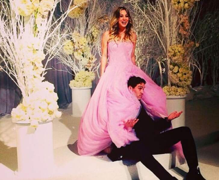 Robes de mariée de stars : Barbie euuuh Kaley Cuoco et Ryan Sweeting en 2013